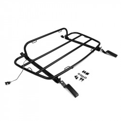 Luggage racks Mazda MX5 ND (tailor-made) - black