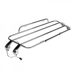 Luggage racks Aero Mazda MX5 ND (tailor-made) - chromium