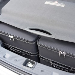 Set of luggages, taylor-made suitcases for Mercedes SL (R230) convertible
