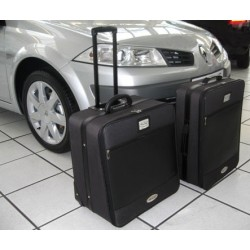 Set of luggages, taylor-made suitcases for Renault Megane 2 CC convertible