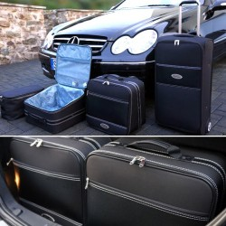 Set of luggages, taylor-made suitcases for Mercedes CLK (A209) convertible