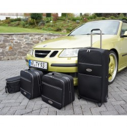 Set of luggages, taylor-made suitcases for Saab 9-3 convertible