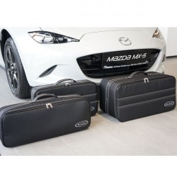 Set of luggages, taylor-made suitcases for Mazda MX5 ND convertible