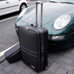 Bagagerie sur-mesure de coffre arrière Porsche Boxster 986 cabriolet (2003-2004)