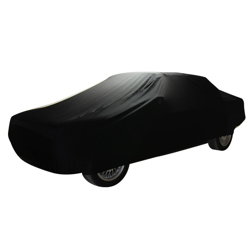 Indoor car cover for Smart Roadster convertible (Coverlux®) (black color)