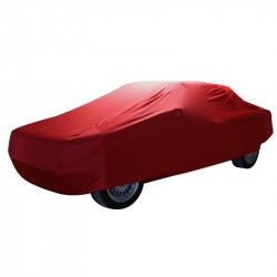 Indoor car cover for Fiat 500 C Topolino convertible (Coverlux®) (red color)