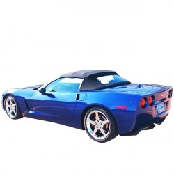 Soft top Corvette C6 convertible in Alpaca Stayfast®