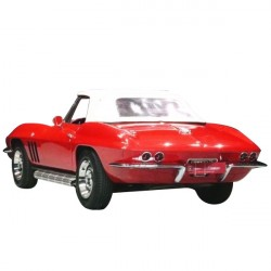 Soft top Corvette C2 convertible in Alpaca Stayfast®