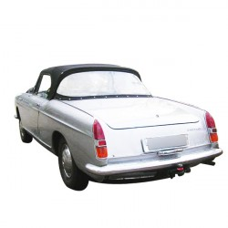 Soft top Peugeot 404 convertible in Alpaca Stayfast® - Panoramic rear window