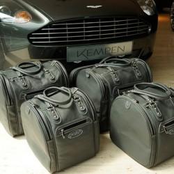 Bagagerie sur-mesure cuir Aston Martin DB9 Volante cabriolet