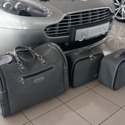 Bagagerie sur-mesure cuir Aston Martin V8 Vantage cabriolet