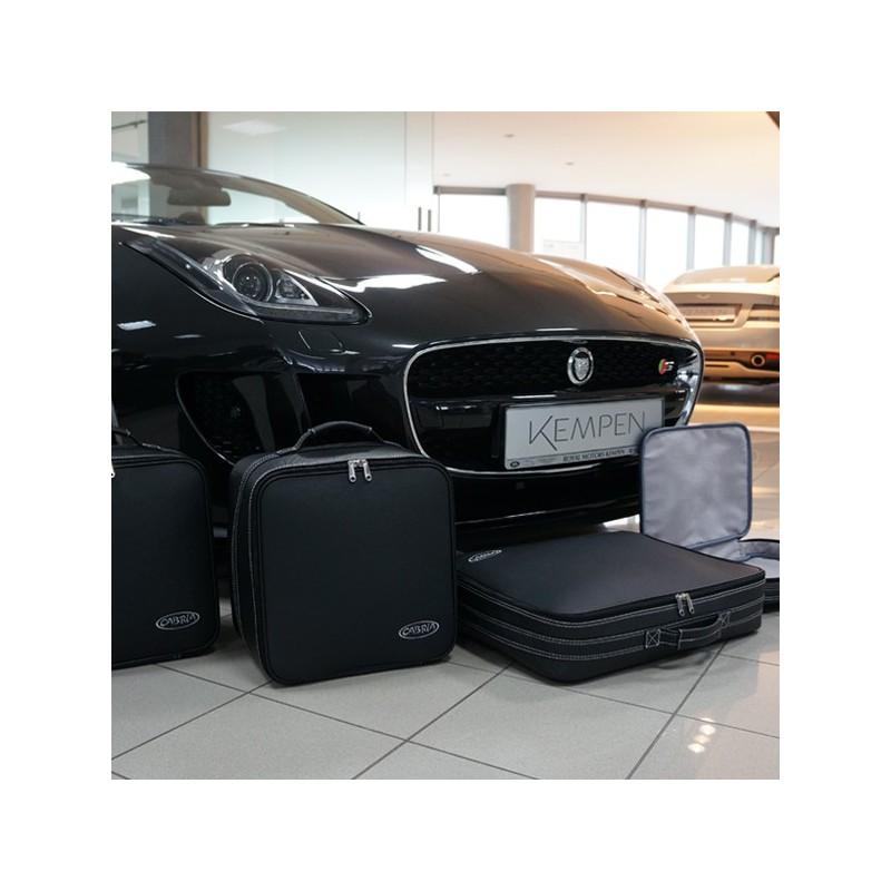 Bagagerie sur-mesure cuir Jaguar F-Type cabriolet