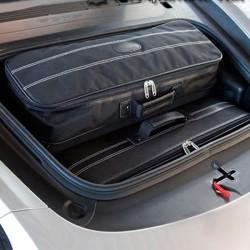 Bagagerie sur-mesure cuir Porsche Boxster 981 cabriolet