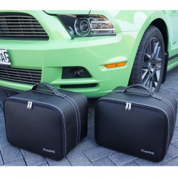 Bagagerie sur-mesure cuir Ford Mustang cabriolet