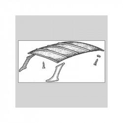 Ciel de toit Renault Caravelle cabriolet