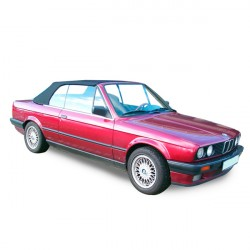 BMW E30 convertible Soft top in Alpaca Stayfast®