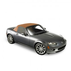 Soft top Mazda MX5 NC convertible in Alpaca Stayfast®