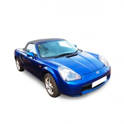Soft top Toyota MR2 convertible in Alpaca Stayfast®