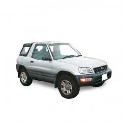 Soft top Toyota Rav 4 convertible in Alpaca Stayfast®