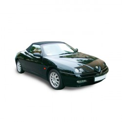 Soft top Alfa Romeo GTV Spider convertible in Alpaca Stayfast®