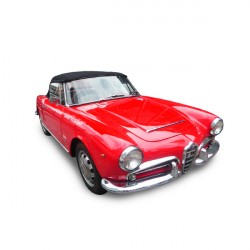 Soft top Alfa Romeo Giulia Spider 1600 convertible in Alpaca Stayfast® 2