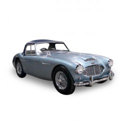 Soft top Austin Healey 100-6 BN6 3000 BN7 convertible in Alpaca Stayfast®