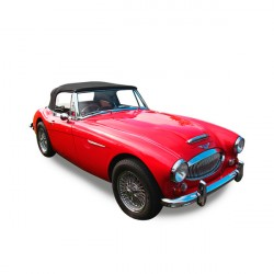 Soft top Austin Healey 3000 BJ8 convertible in Alpaca Stayfast®