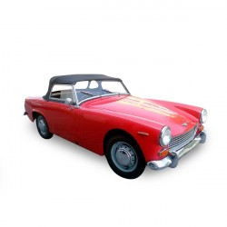 Soft top Austin Healey Sprite MK2 convertible in Alpaca Stayfast®