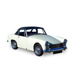 Soft top Austin Healey Sprite MK4 convertible in Alpaca Stayfast® (1970-1971)