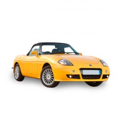 Soft top Fiat Barchetta convertible in Alpaca Stayfast®