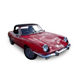 Soft top Fiat 850 convertible in Alpaca Stayfast®