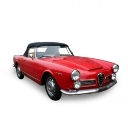 Soft top Alfa Romeo Spider 2600 convertible in Alpaca Stayfast®