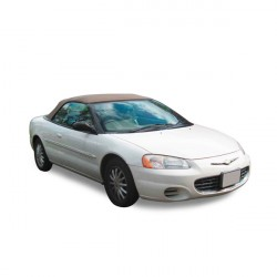 Chrysler Sebring convertible Soft top in Vinyl - Glass rear window