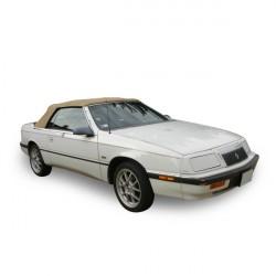 Capote Vinyle Chrysler Le Baron cabriolet (1987-1995) - Lunette souple