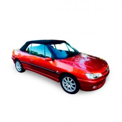 Soft top Peugeot 306 convertible in Alpaca Stayfast®
