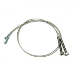 Side tension cables for Ford Mustang soft top (06/1964-1965)
