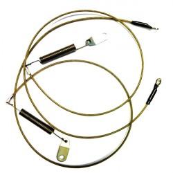 Cables laterales capota Suzuki Swift Geo Metro