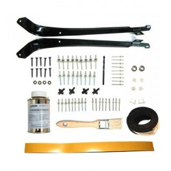 Mounting kit for Peugeot 205 cabrio