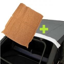Acolchado (relleno o colchón) interior Volkswagen Golf 1 descapotable