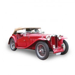MG TC convertible Soft top in Vinyl