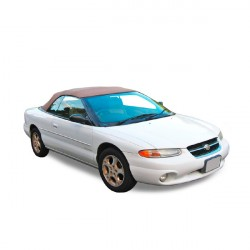 Chrysler Stratus convertible Soft top in Vinyl (1996-2001)- Glass rear window