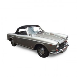 Soft top Fiat 1500 convertible in Alpaca Stayfast®