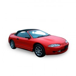 Soft top Mitsubishi Eclipse convertible in Alpaca Stayfast® (1995-1999)