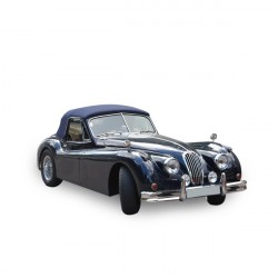 Jaguar XK 140 D.H.C convertible Soft top in Vinyl