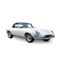 Capota Vinilo Jaguar Type E/XKE cabriolet - sin ventana trasera
