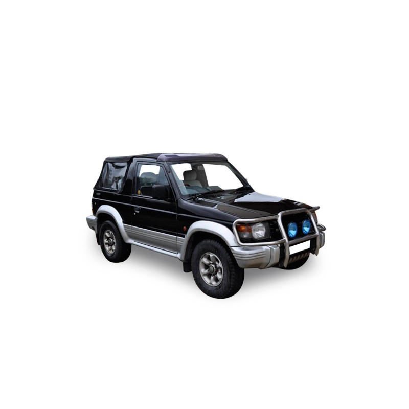 mitsubishi pajero v20-v23-v24 convertible soft top in alpaca sonnenland®
