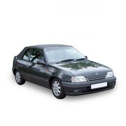 Capote Opel Kadett E cabriolet Vinyle - 5 boucles (avec doublure)