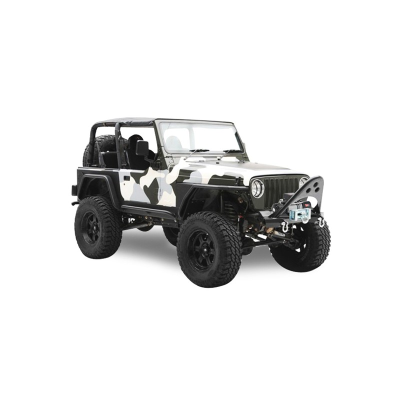 Soft Top Jeep Wrangler JK 2 Doors Convertible Vinyl