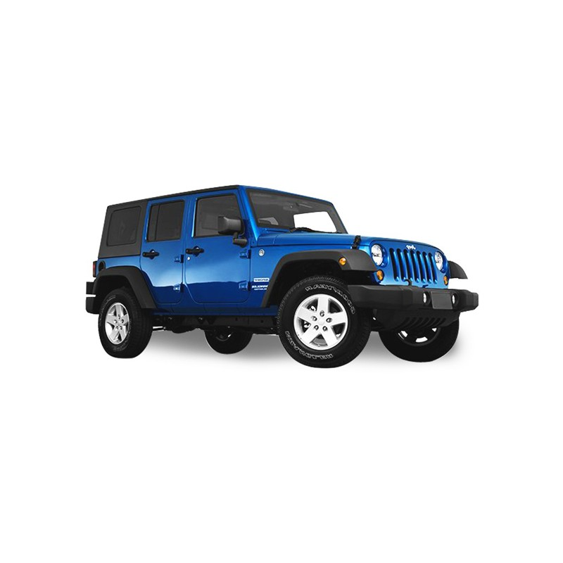 Soft Top Jeep Wrangler JK 4 Doors Convertible Vinyl