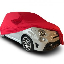 Indoor car cover tailored for Fiat 500 C convertible (Coverlux®+)